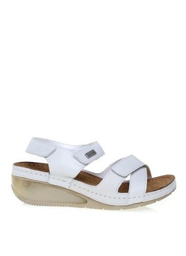 Pierre Cardin Pierre Cardin Sandalet Beyaz